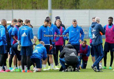 Bundesliga: HSV Training im Volkspark