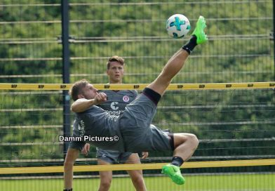 FC St. Pauli Training an der Kollaustraße