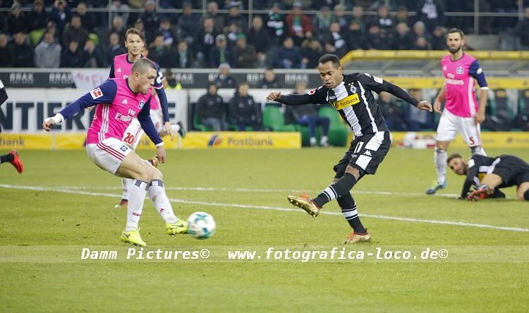 Bundesliga: Borussia Mönchengladbach – Hamburger SV 3:1