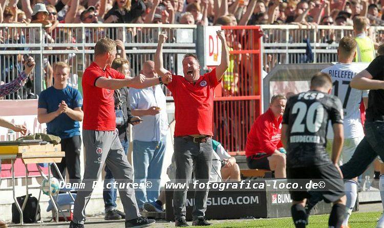 2. Bundesliga: FC St. Pauli – Arminia Bielefeld 1:0