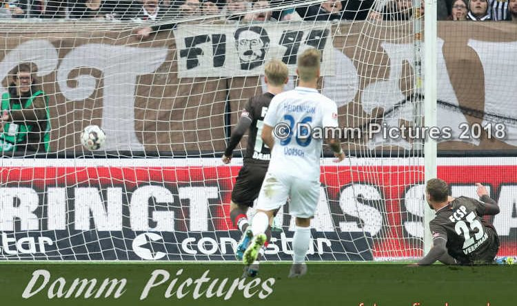 2. Liga: FC St. Pauli – 1. FC Heidenheim 1:1