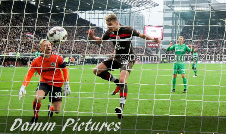 2. Liga: FC St. Pauli – SpVgg Greuther Fürth 2:0