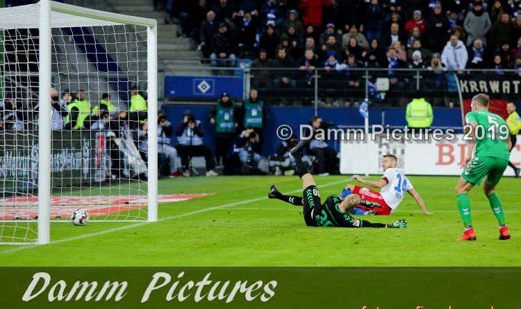 2. Liga: Hamburger SV – SpVgg Greuther Fürth 1:0
