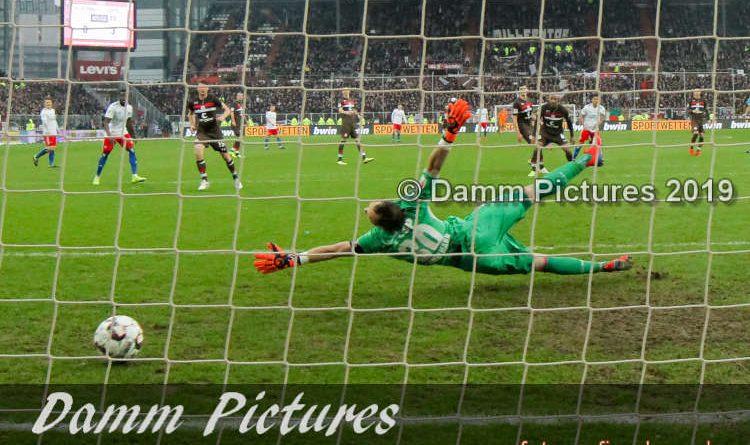2. Liga: FC St. Pauli – Hamburger SV 0:4
