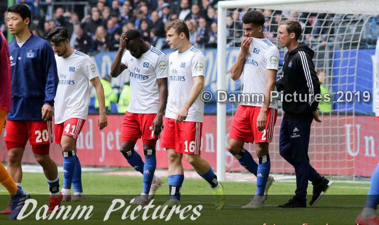 2. Liga: Hamburger SV – FC Ingolstadt 04. 0:3