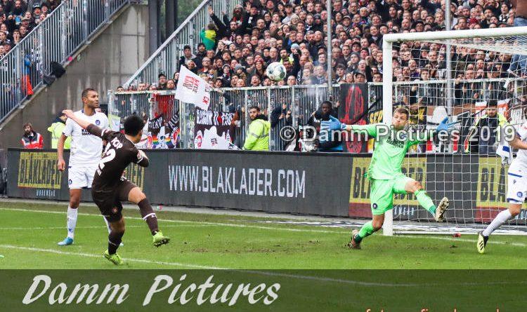 2. Liga: FC St. Pauli – Karlsruher SC 2:2