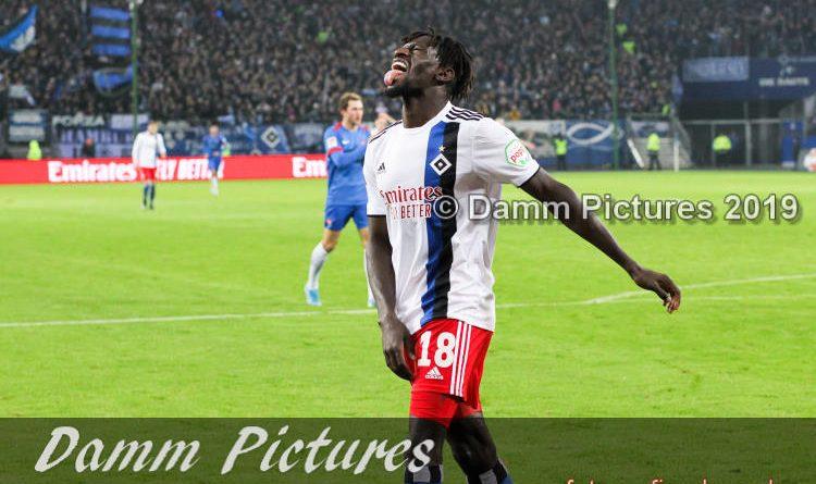 2.Liga: Hamburger SV – 1. FC Heidenheim 0:1