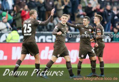 2. Liga: FC St. Pauli – SV Wehen Wiesbaden 3:1